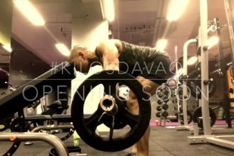 Davao Bent Over Barbell Shrugs  I am your therapist! I am your trainer!  Connect with …