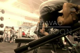 Davao Incline Leg Raise: Lay on the opposite side of the decline bench holding on to t…