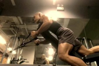 Davao Incline Low Pull Cable Row: I utilized the inclined bench to stabilize my torso …