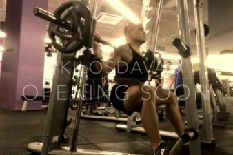 Davao Smith Machine Wide Squat: Aimed to hit the glutes and the outer sweep of the qua…