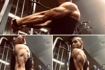 Davao Some triceps action for my afternoon workout session. I just love the anatomy of…