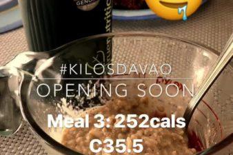 Davao meal 3: #champorado 252cals C35.5 P21.7 F2.8G
