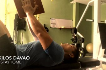 Davao ELDERLY/PWD HOME EXERCISES PROGRAM: DAY FORTY FIVE – CHEST