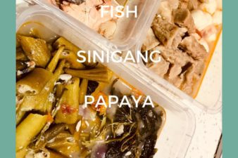 Davao MEALS: WEEK FIVE – DAY FIVE – MEAL FIVE: 581 CALORIES