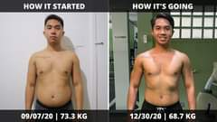 Davao MY PANDEMIC BODY TRANSFORMATION JOURNEY